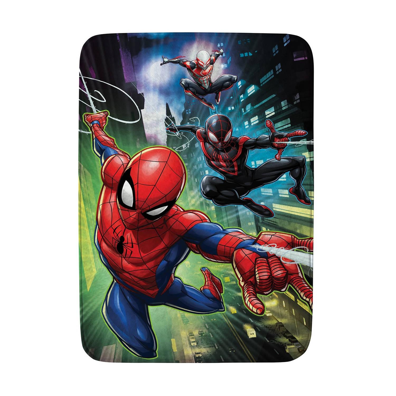 House of Kids speelkleed Spider-Man 70 x 95 cm groen