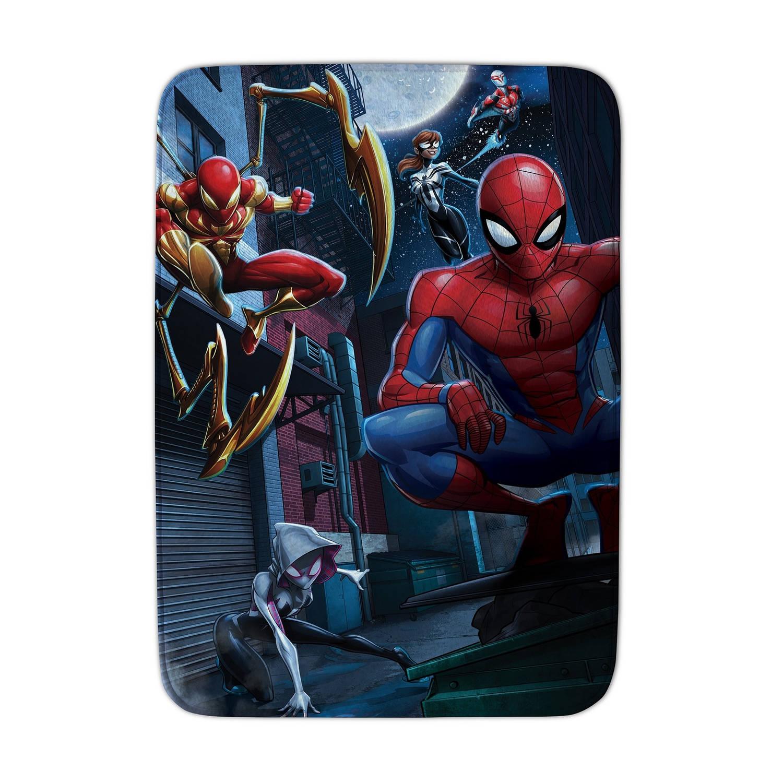 House of Kids speelkleed Spider-Man 70 x 95 cm blauw