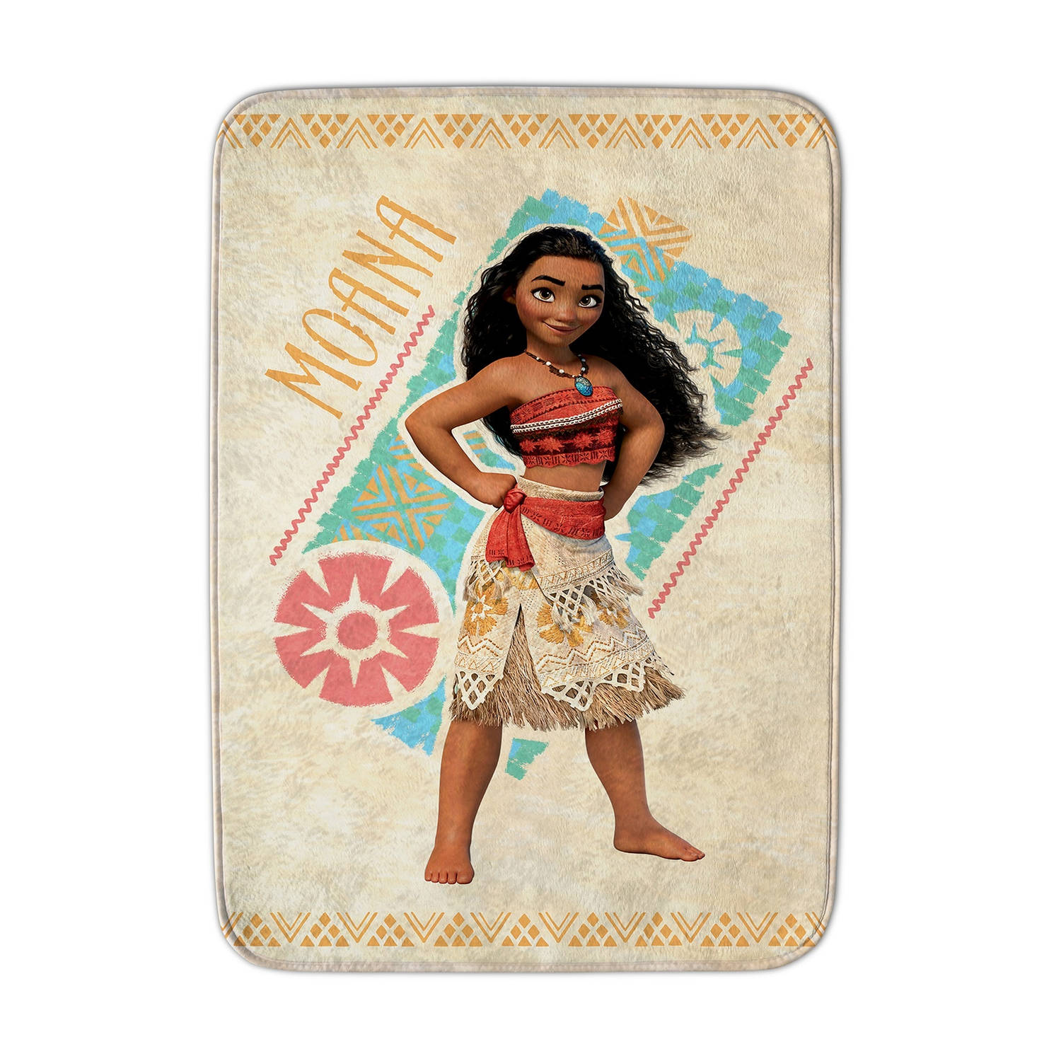 House of Kids speelkleed Moana 70 x 95 cm geel
