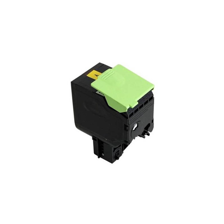 Huismerk Lexmark 801K geel Toner