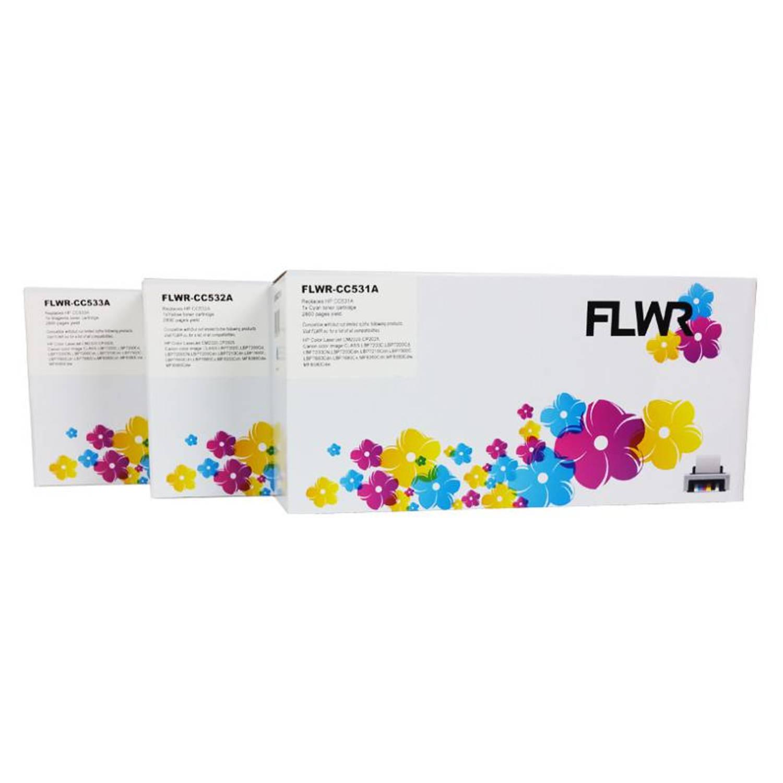FLWR HP 304A 3-pack kleur Toner