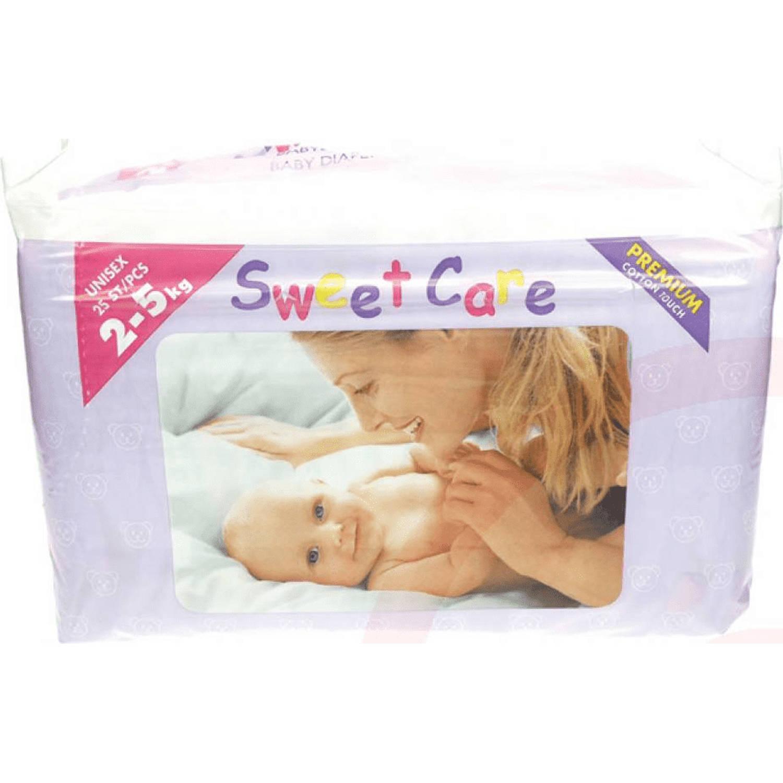 SweetCare Baby Luiers FLEX Mini Maat 2 25 stuks