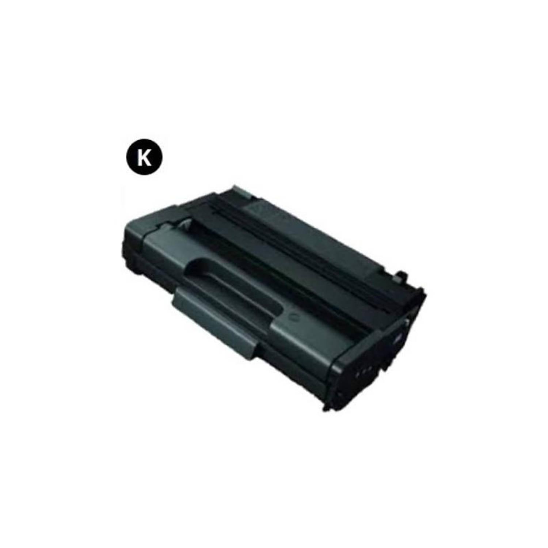 Huismerk Ricoh 406990 zwart Toner
