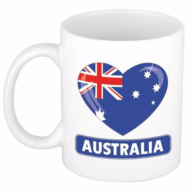 Hartje Australie mok / beker 300 ml