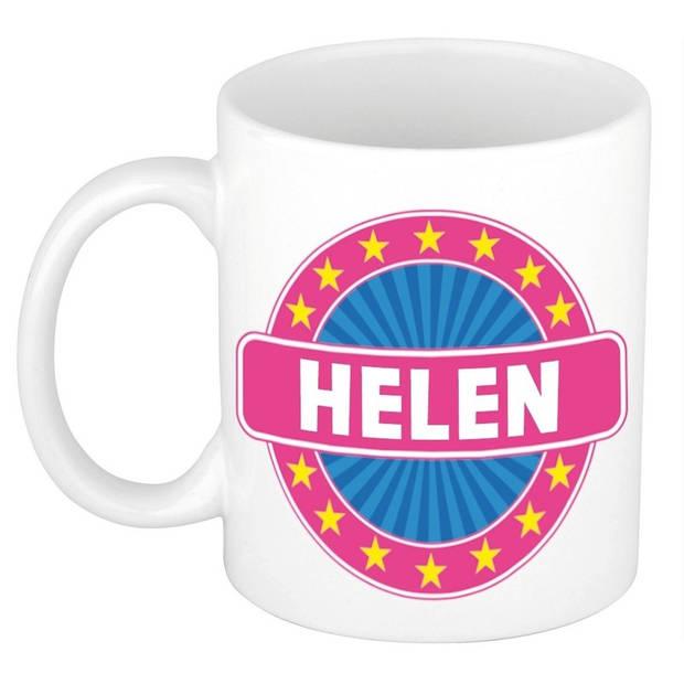 Helen naam koffie mok / beker 300 ml - namen mokken
