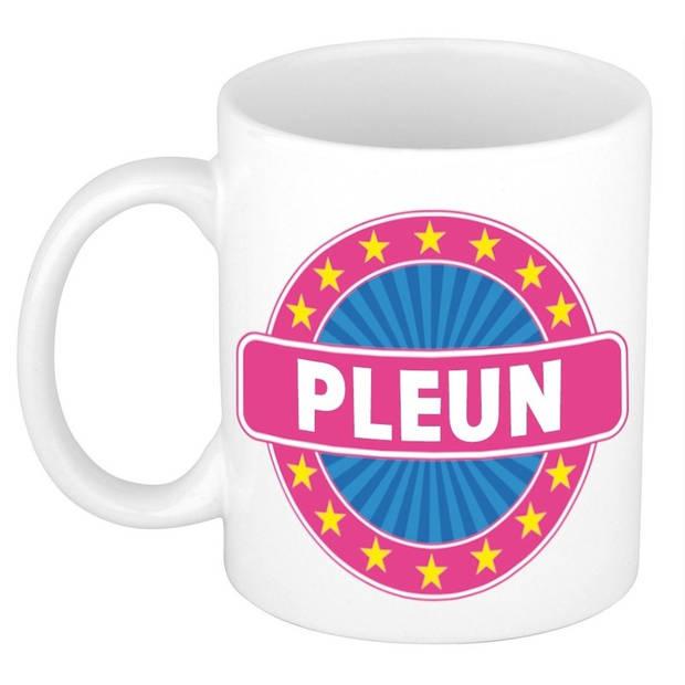 Pleun naam koffie mok / beker 300 ml - namen mokken