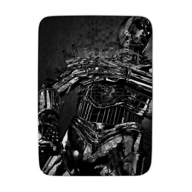ACHOKA vloerkleed Star Wars 70 x 95 cm zwart