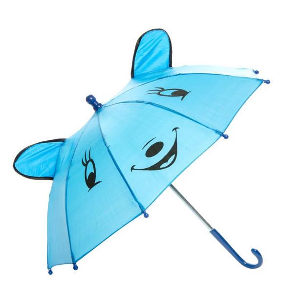 LG-Imports dierenparaplu blauw
