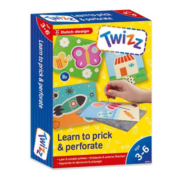 Twizz Leer & ontdek: prikken met prikpen en viltmat