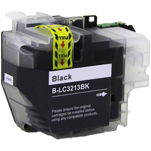Huismerk Brother LC-3213 zwart Cartridge