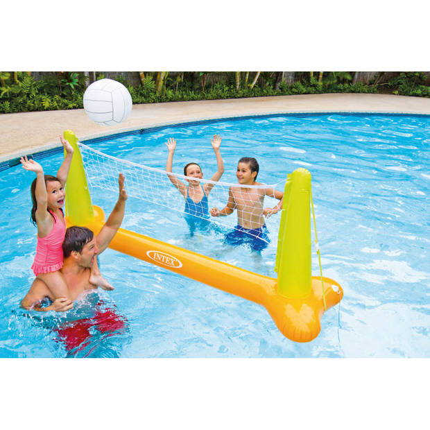 Zwembad volleybalspel
