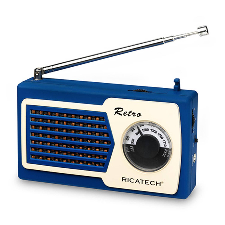 Ricatech PR22 Retro Radio Blauw