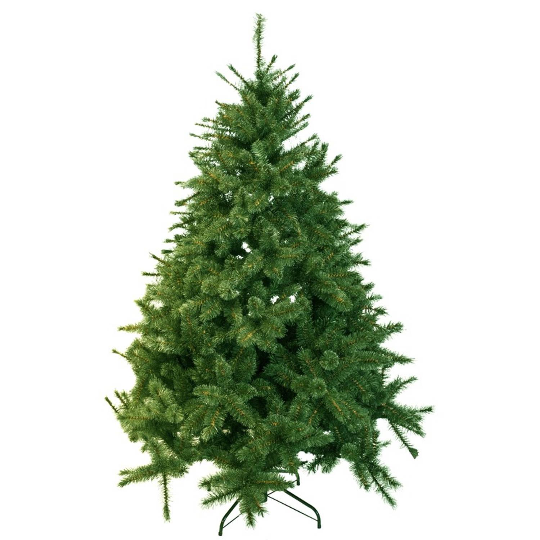 Kunst kerstboom 155 cm dennengroen kunstkerstbomen