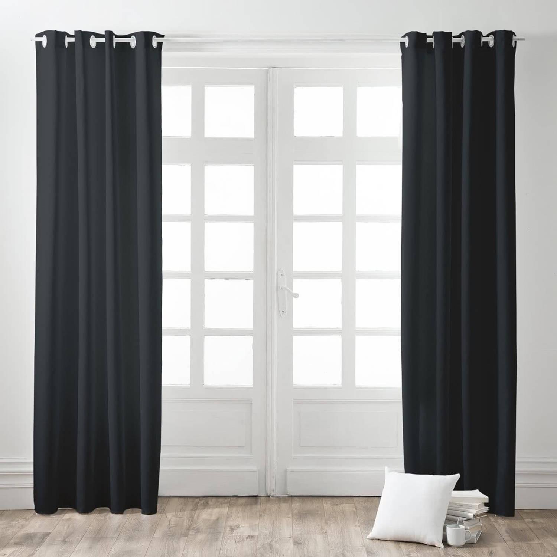 Today Kant en Klaar Gordijn Zwart - 140cm x 260cm