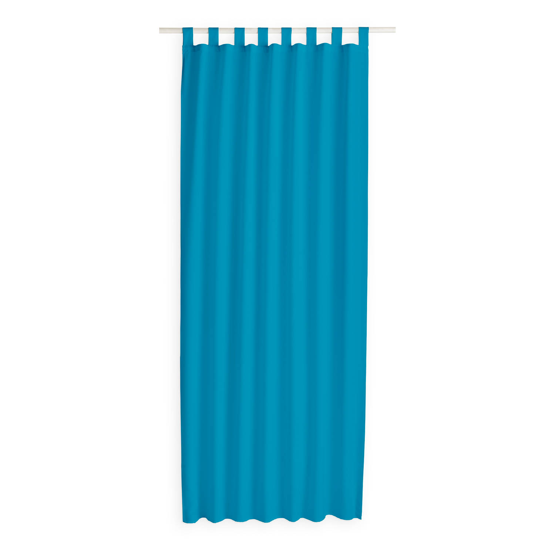 Today Kant en Klaar Gordijn Met Lus Blauw - 140cm x 260cm