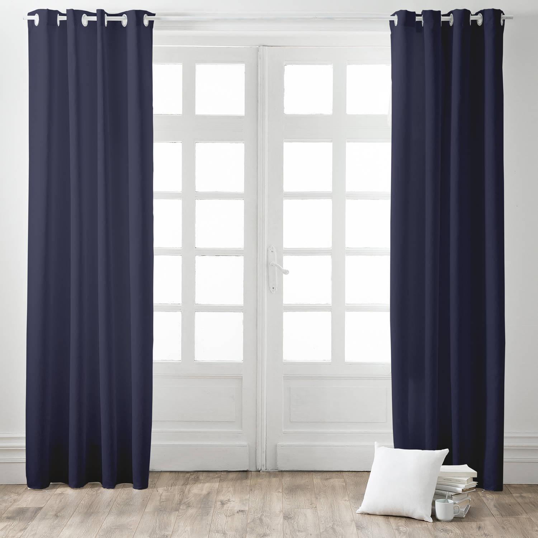 Today Kant en Klaar Gordijn Verduisterend Donkerblauw - 140cm x 260cm
