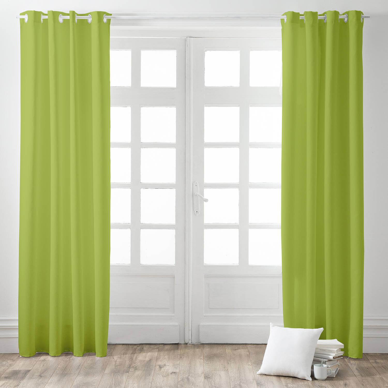 Today Kant en Klaar Gordijn Verduisterend Groen - 140cm x 260cm