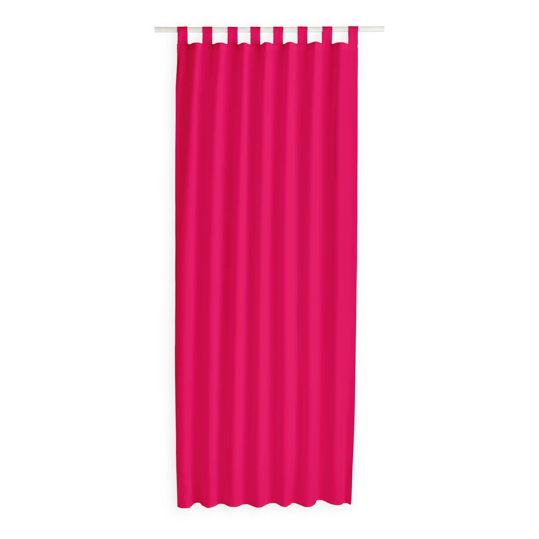 Today Kant en Klaar Gordijn Met Lus Roze - 140cm x 260cm
