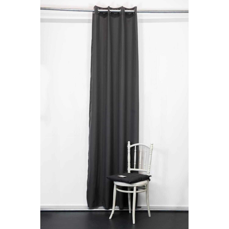 Today Kant en Klaar Gordijn Antraciet - 140cm x 260cm