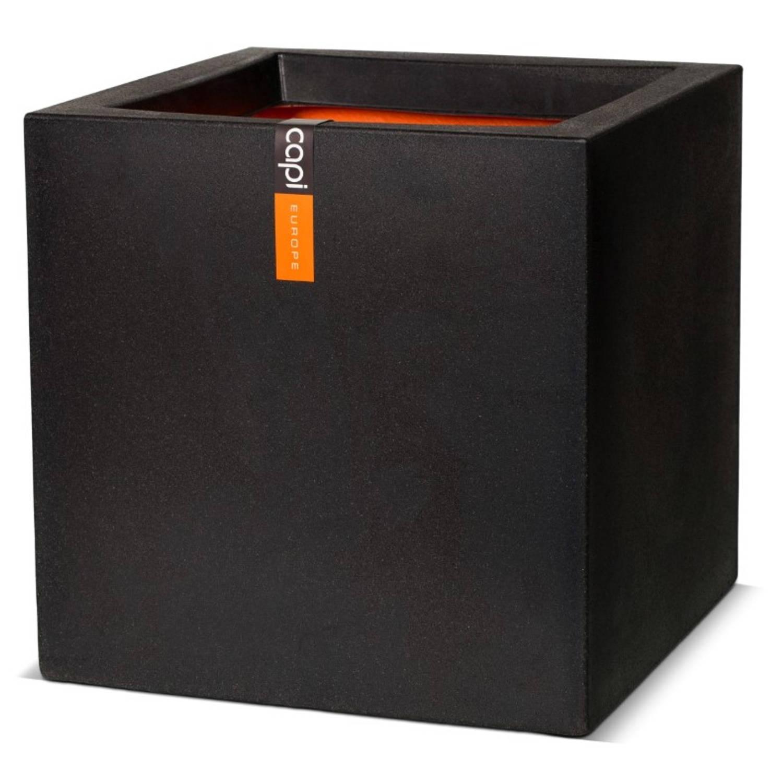 Pot Vierkant Iii 40x40x40 Zwart