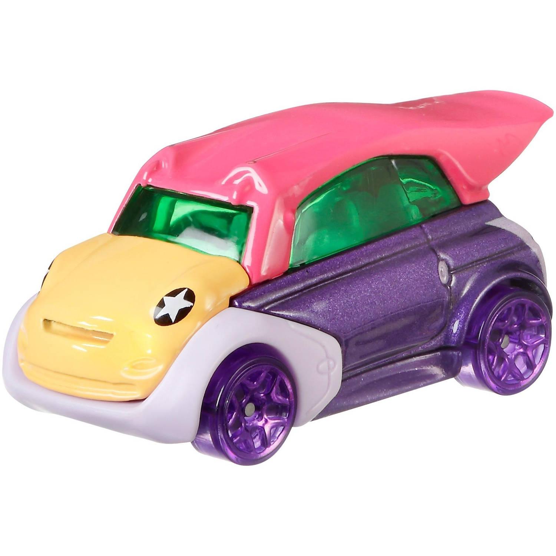 Hot Wheels Teen Titans Go! auto Beast Boy 6 cm paars/roze