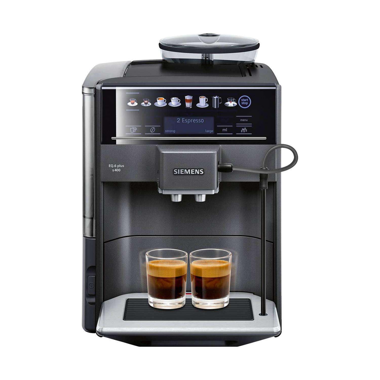 Siemens EQ.6 TE654319RW volautomatische espressomachines - Zwart
