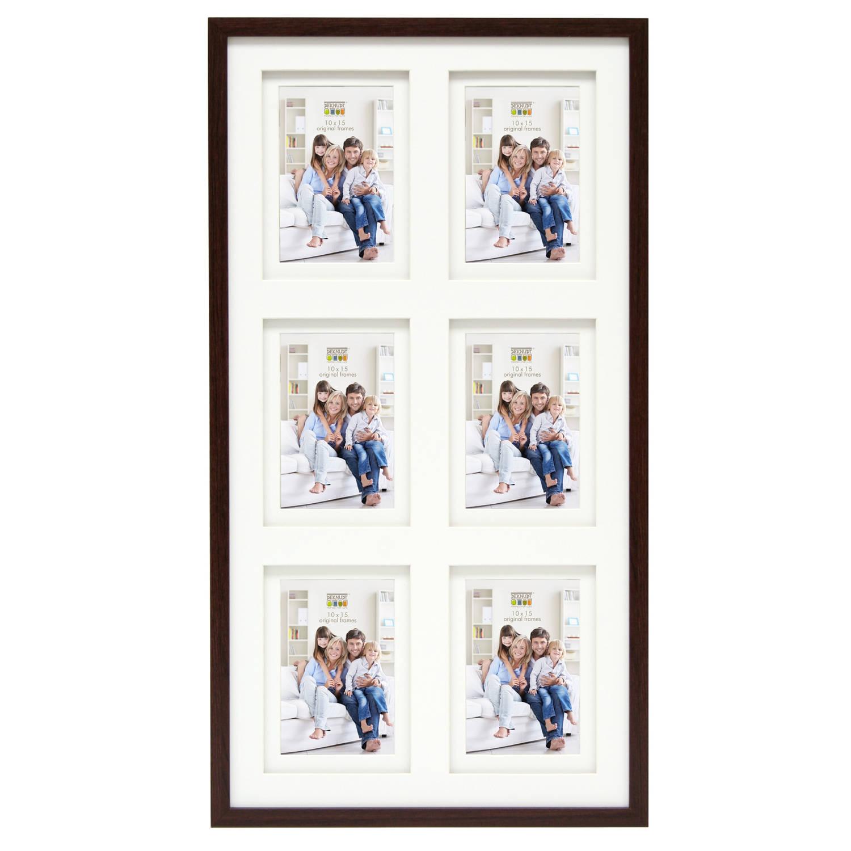 Deknudt Frames collage fotolijst - 6 foto's van 10x15 cm