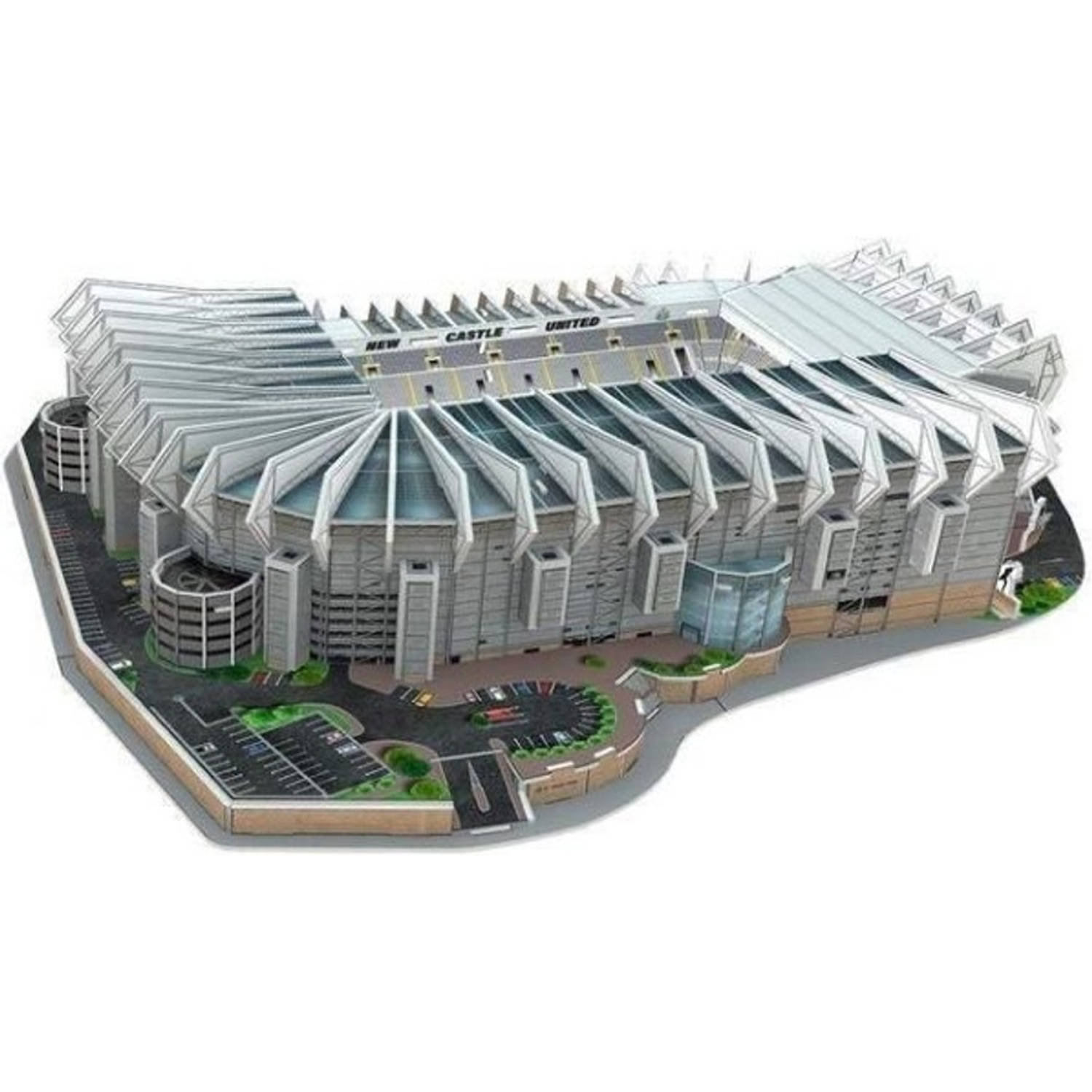 Nanostad Newcastle United 3D-puzzel St James Park 140-delig