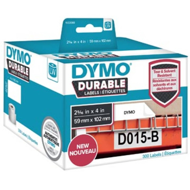 Dymo duurzame etiketten LabelWriter ft 59 x 102 mm, 300 etiketten
