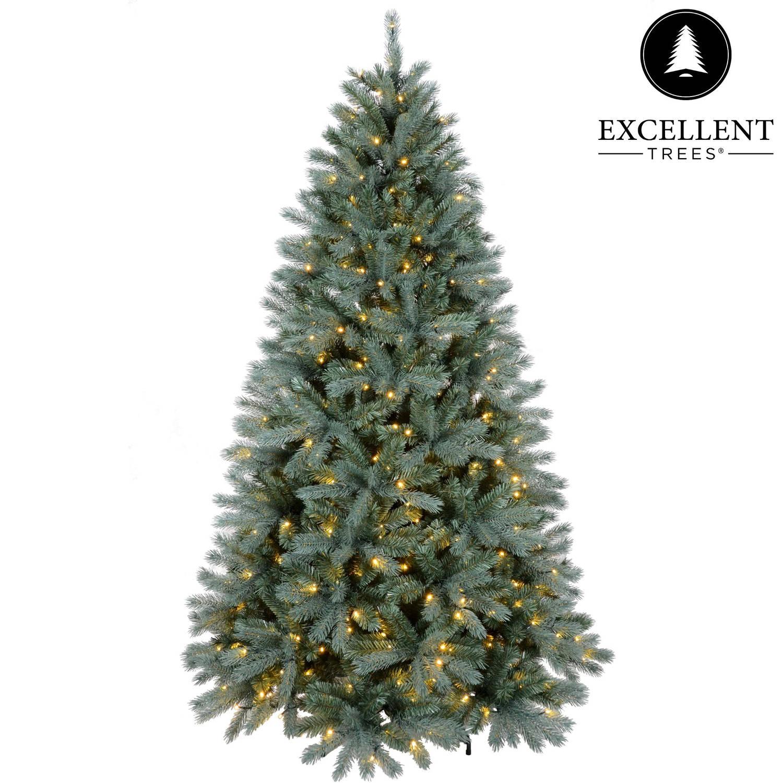 Kerstboom Excellent Trees® LED Uppsala 210 cm met verlichting - Luxe uitvoering - 400 Lampjes