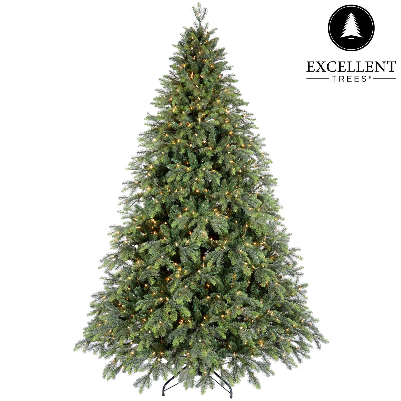 Kerstboom Excellent Trees® LED Kalmar 210 cm met verlichting - Luxe uitvoering - 450 Lampjes