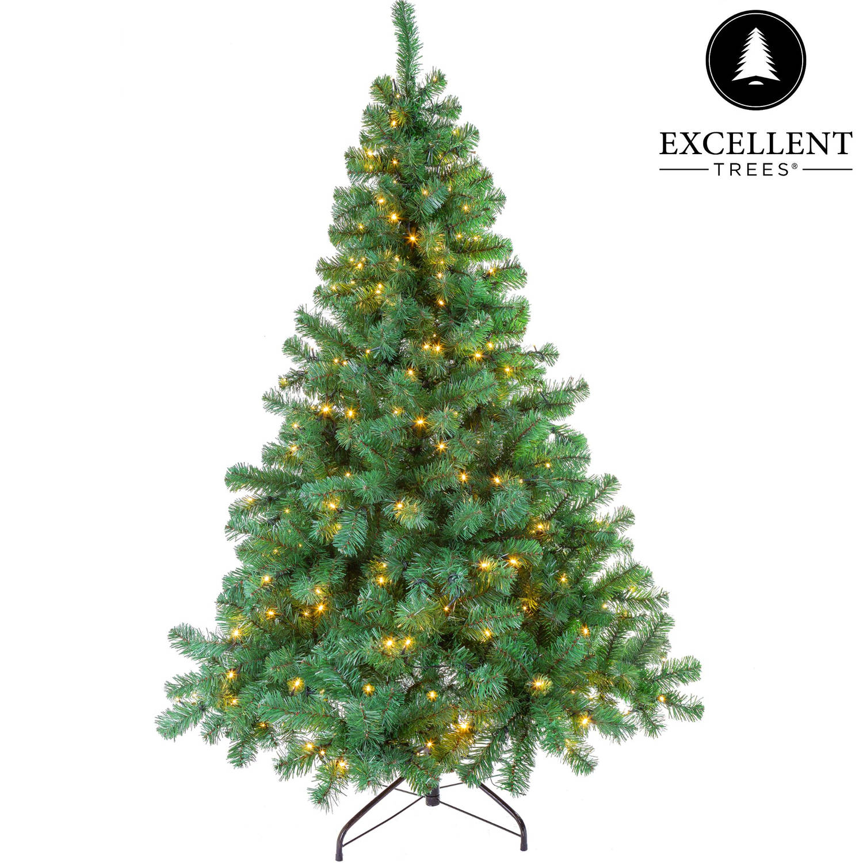 Kerstboom Excellent Trees® LED Stavanger Green 180 cm met verlichting - 350 Lampjes