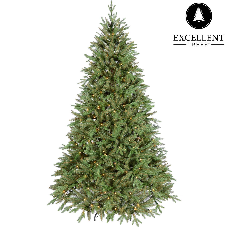 Kerstboom Excellent Trees® LED Ulvik 210 cm met verlichting - Luxe uitvoering - 460 Lampjes