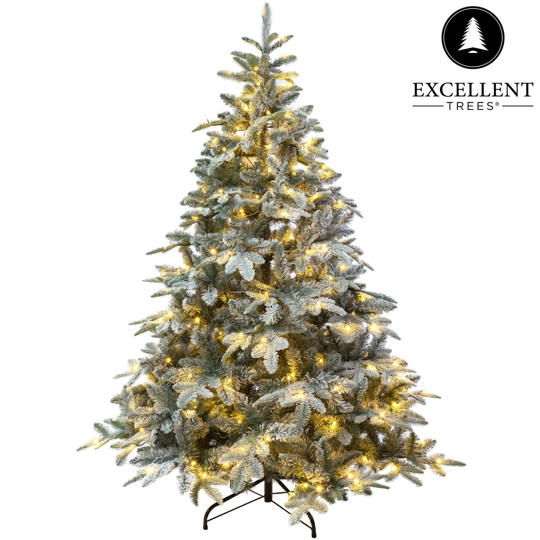 Kerstboom Excellent Trees® LED Otta 210 cm met verlichting - Luxe uitvoering - 420 Lampjes