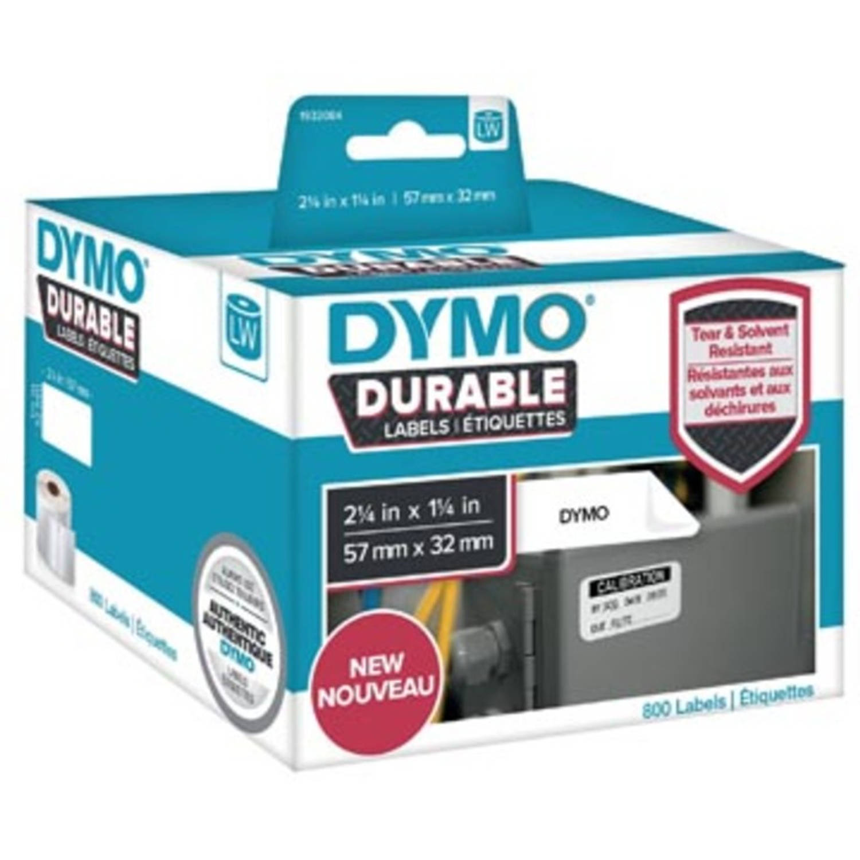 Dymo duurzame etiketten LabelWriter ft 57 x 32 mm, 800 etiketten