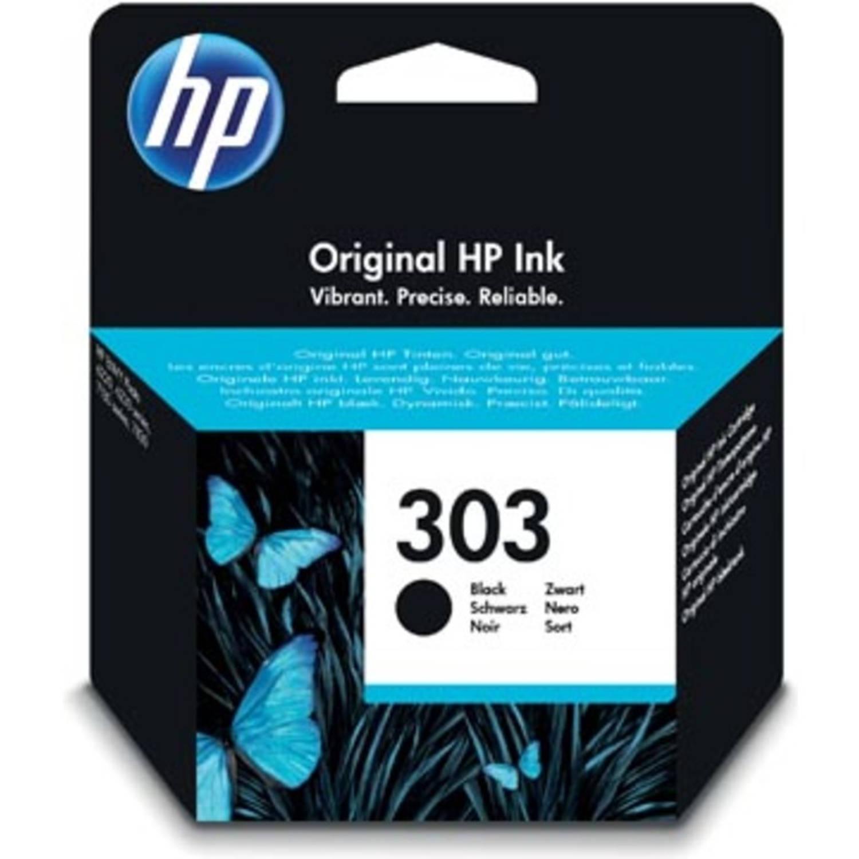 HP inktcartridge 303 zwart, 200 pagina's - OEM: T6N02AE
