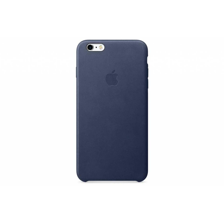Leather Case voor de iPhone 6(s) Plus - Midnight Blue
