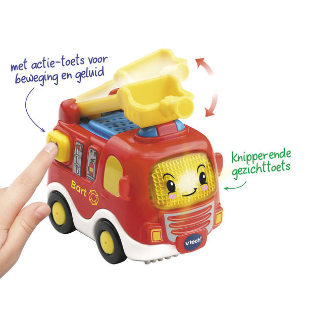 Vtech Toet Toet Auto's Bart Brandweer