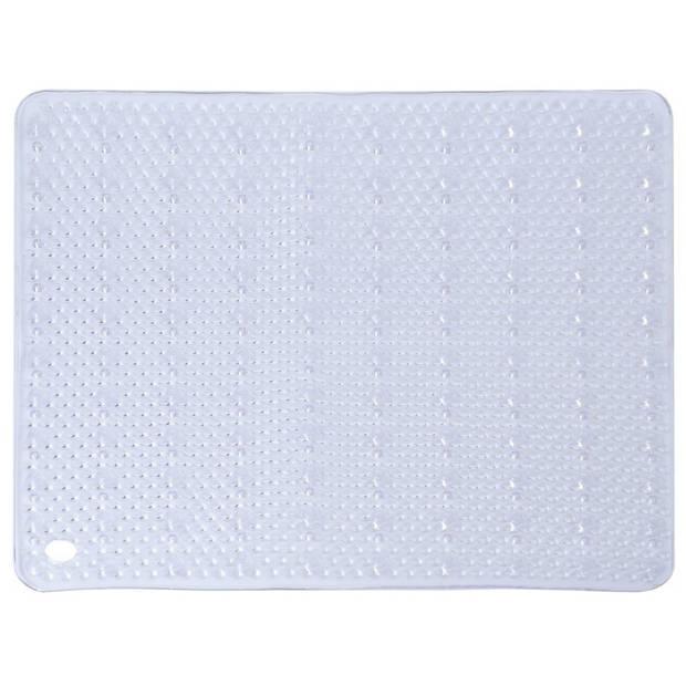 Transparante antislip mat voor douchekabine 52 cm