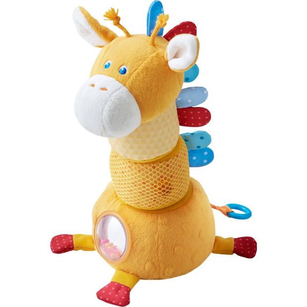 Haba stapelfiguur giraf Vlekje 24 cm