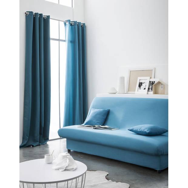 Kant en Klaar Gordijn Verduisterend Blauw - 140cm x 260cm