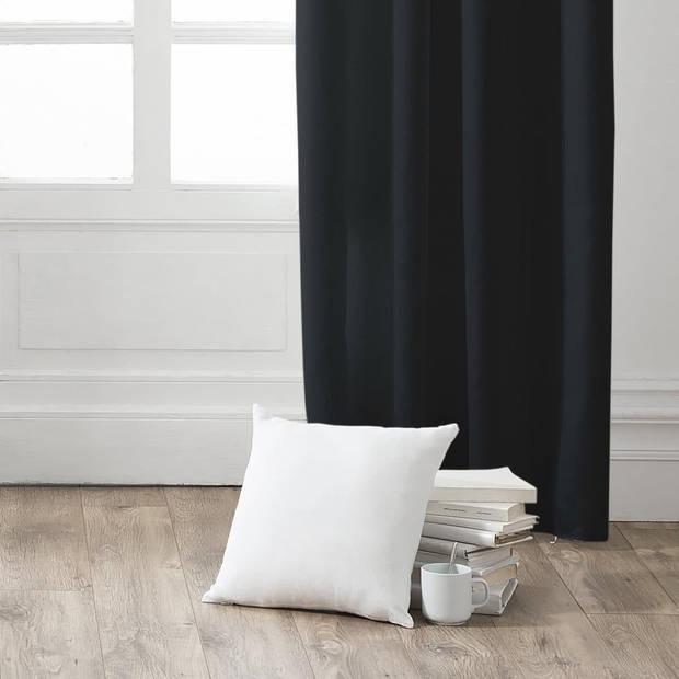 Kant en Klaar Gordijn Zwart - 140cm x 260cm