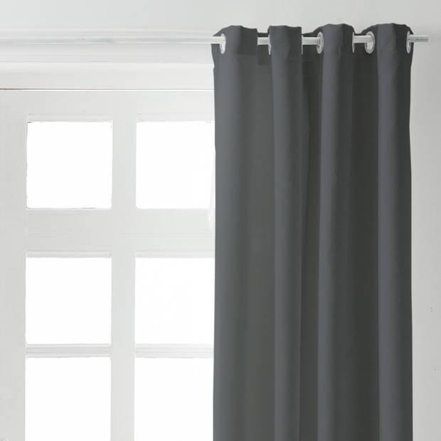 Kant en Klaar Gordijn Verduisterend Antraciet - 140cm x 260cm