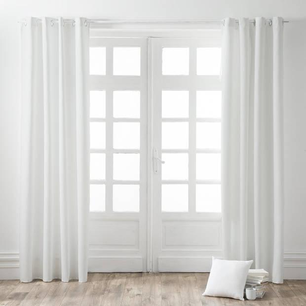 Kant en Klaar Gordijn Wit - 140cm x 260cm