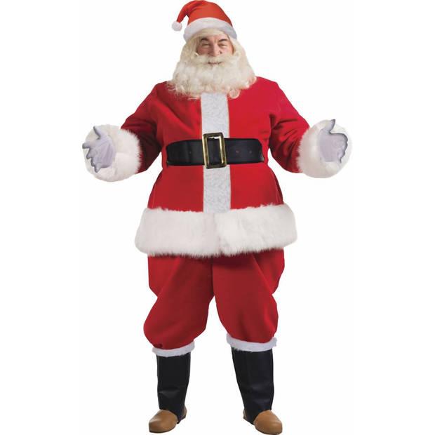 9-Delig luxe kerstmanpak kostuum