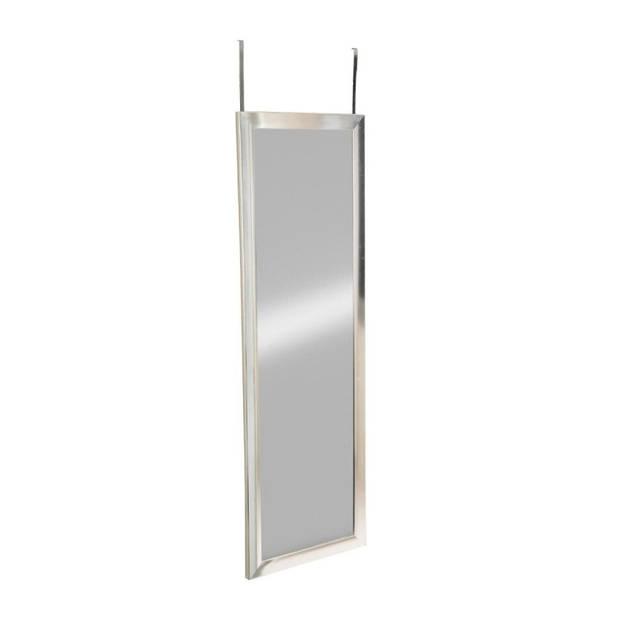 Lange Deur Spiegel Hangend - Grote Hangende Visagie Passpiegel - Zilver Frame