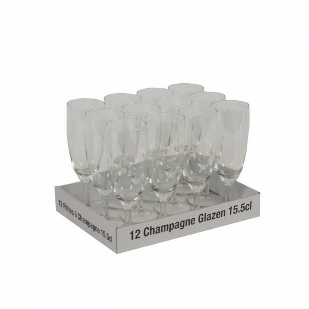 Champagne glazen 24 stuks