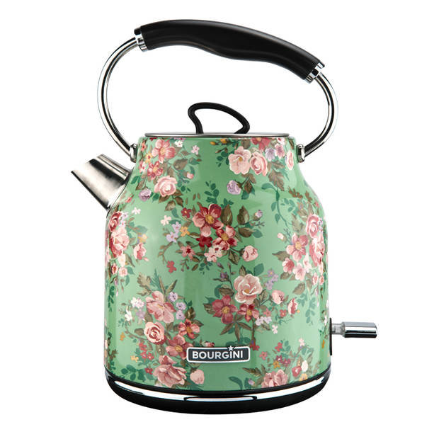 Bourgini waterkoker Floral Green