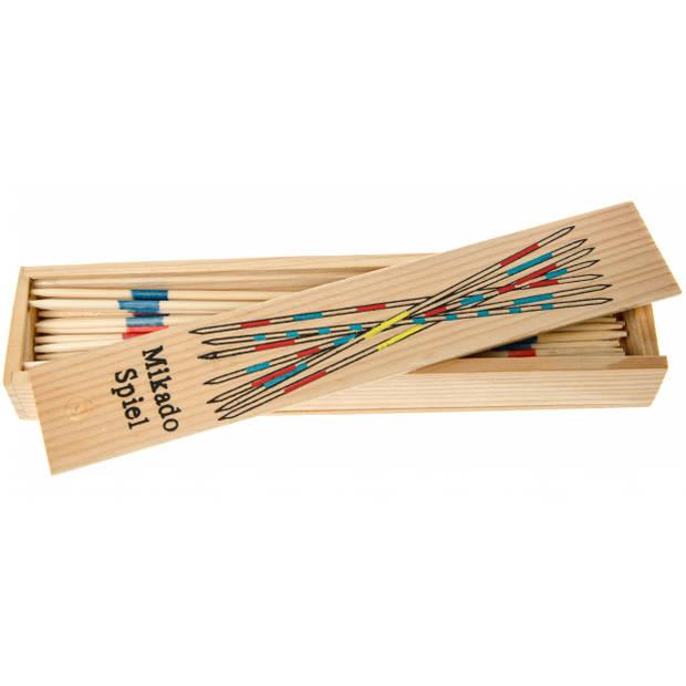 LG-Imports legspel mikado hout 18 cm 41-deilg