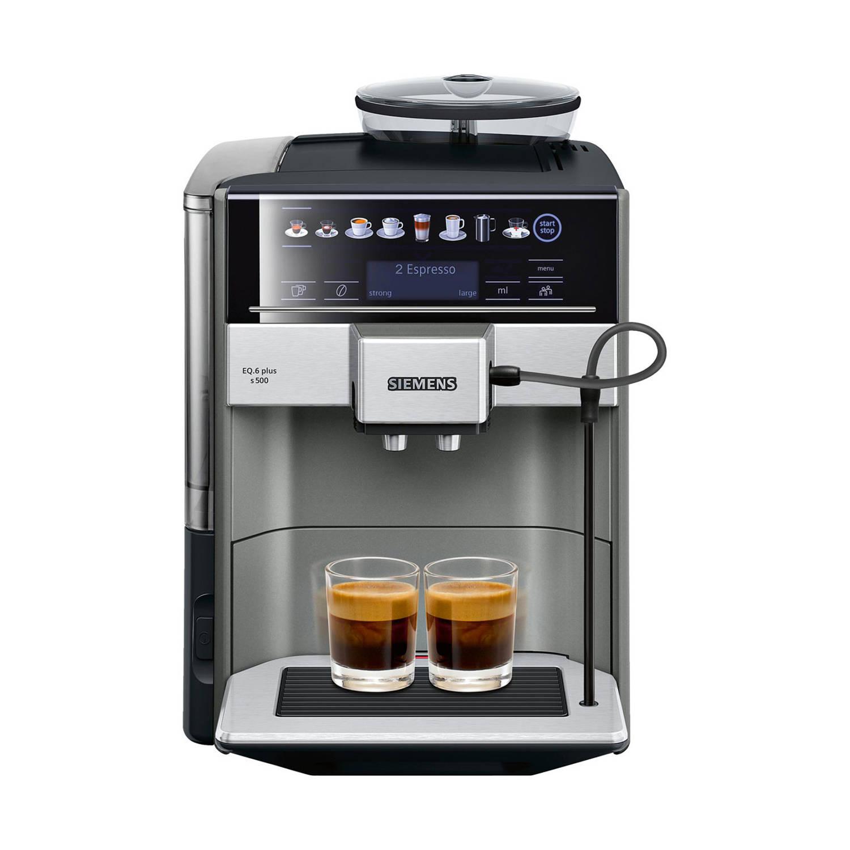Siemens EQ.6 TE655203RW volautomatische espressomachines - Zwart